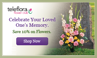 Save 10% on Flowers